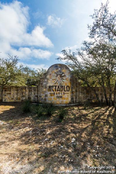 Helotes Residential Lots & Land New: 14342 Santa Rita