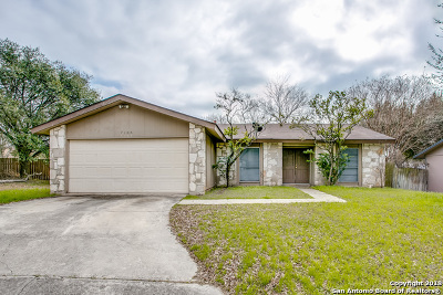 San Antonio Single Family Home New: 7106 Moss Creek Dr