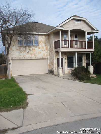 Bexar County Single Family Home New: 13743 Tramonto Hill
