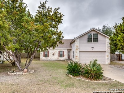 Comal County Single Family Home New: 879 Scenic Dr