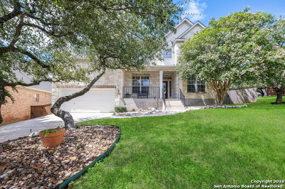 San Antonio Single Family Home Back on Market: 24227 Bears Crest