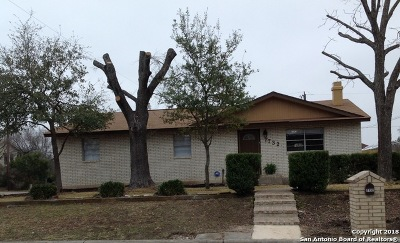 San Antonio Single Family Home For Sale: 7732 Linkview St