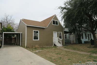 San Antonio Single Family Home Price Change: 1043 E Highland Blvd