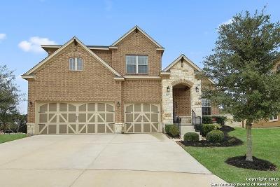 San Antonio Single Family Home Price Change: 18314 Snorkel Cove