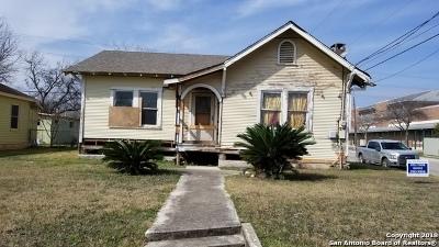 San Antonio Single Family Home New: 103 Castillo Ave
