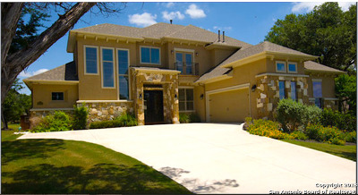 San Antonio Single Family Home New: 26002 Tivoli Meadows