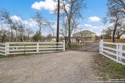 San Antonio Single Family Home New: 23119 Hickory Pass