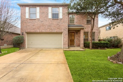 San Antonio Single Family Home New: 21014 Pearl Harvest