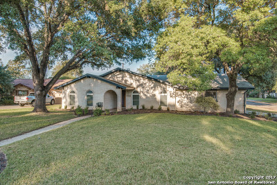 San Antonio Single Family Home New: 10502 Portrait Ct