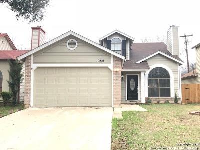 San Antonio Single Family Home New: 9319 Village Lance