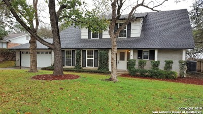 Bexar County Single Family Home New: 323 Forrest Trail