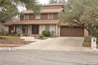 San Antonio Single Family Home New: 4426 Cypress Woods St