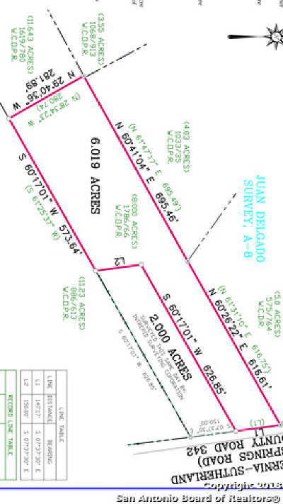 La Vernia Residential Lots & Land For Sale: 2405 County Road 342