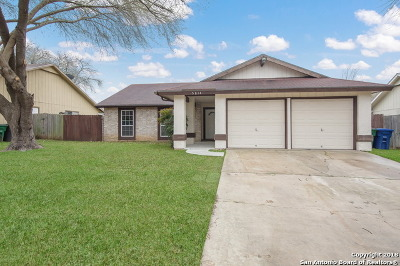 San Antonio Single Family Home New: 5814 Burkley Springs St