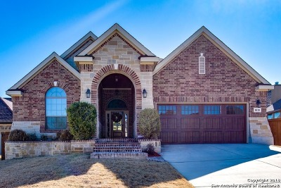 Bexar County Single Family Home New: 8010 Limpia Creek