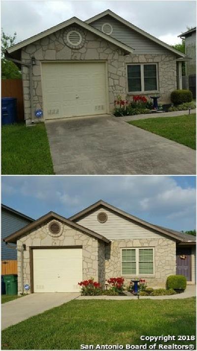 San Antonio Single Family Home New: 13522 Escort Dr