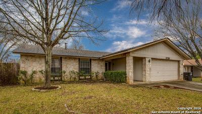 San Antonio Single Family Home New: 6738 Spring Garden St