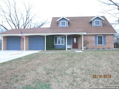 Universal City Single Family Home New: 842 Boulder Dr