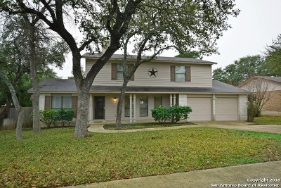 San Antonio Single Family Home New: 2734 Pebble Breeze