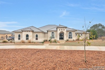 Comal County Single Family Home New: 1173 Sapling Spg