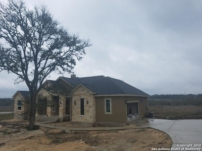 Comal County Single Family Home New: 1042 Morning Glen