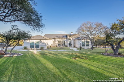 Boerne Single Family Home New: 24802 Caliza Terrace