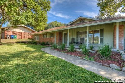 San Antonio Single Family Home New: 3214 Albin Dr