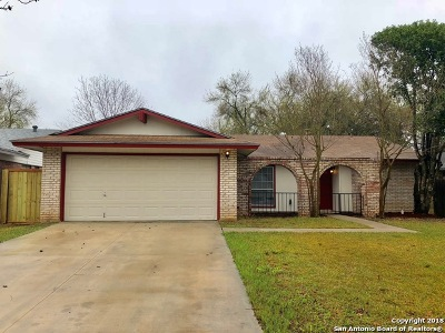 San Antonio TX Single Family Home Back on Market: $174,900