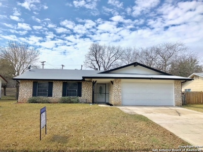 Bexar County Single Family Home New: 8211 Littleport