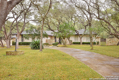 Shavano Park TX Single Family Home New: $485,000