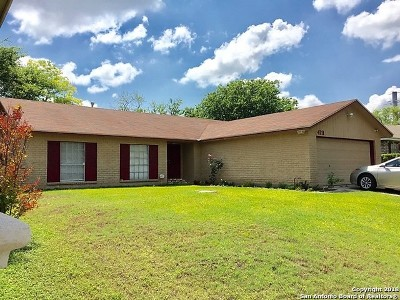 Bexar County Single Family Home Price Change: 4711 Timberhill
