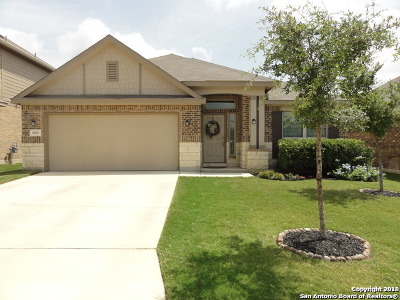 San Antonio Single Family Home New: 9006 Wyatts Run