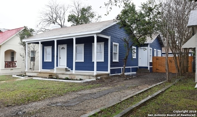 San Antonio Single Family Home New: 219 Alexander Hamilton Dr