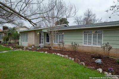 San Antonio Single Family Home New: 401 Furr Dr