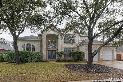 San Antonio Single Family Home New: 9827 Ramblin River Rd