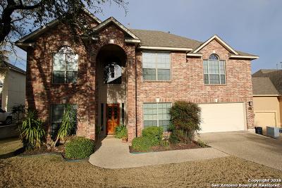 San Antonio Single Family Home New: 19514 Gran Roble
