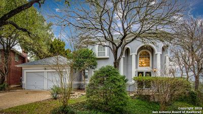San Antonio TX Single Family Home New: $358,000