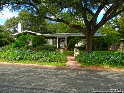 Single Family Home For Sale: 201 E Kings Hwy