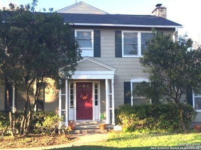 San Antonio Single Family Home For Sale: 609 Kampmann Blvd