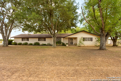 Guadalupe County Farm & Ranch For Sale: 1591 Leissner School Rd