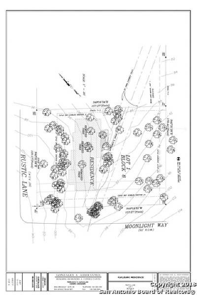 San Antonio Residential Lots & Land Price Change: 12200 Rustic Ln