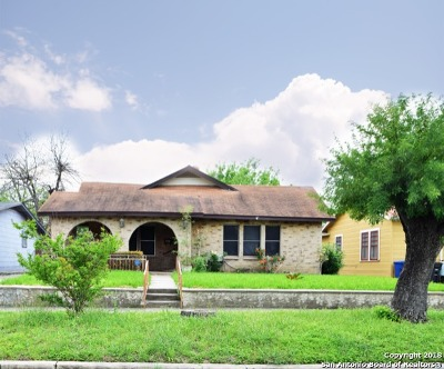 San Antonio Single Family Home Price Change: 438 Bailey Ave