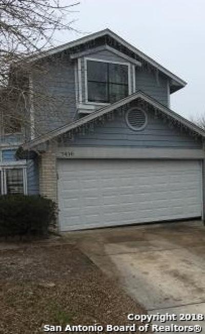 Single Family Home For Sale: 7410 Cinnabar Trail