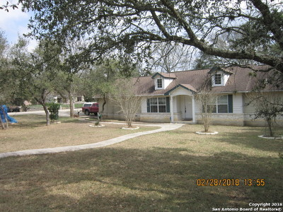 Bulverde Single Family Home For Sale: 1210 Ridgeway Dr