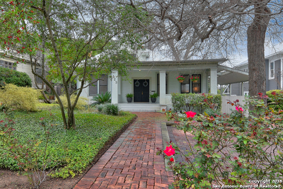 Alamo Heights Single Family Home For Sale: 123 Kennedy Ave