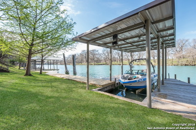 Guadalupe County Single Family Home For Sale: 190 River Haven Rd