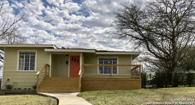 San Antonio Single Family Home Back on Market: 106 Andricks Dr
