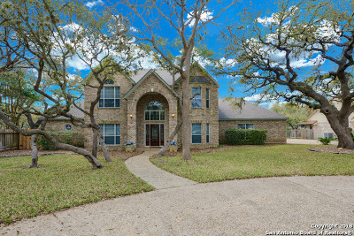 Helotes Single Family Home For Sale: 10910 Hunters Way
