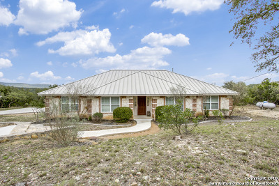 Bandera County Single Family Home For Sale: 164 Forest Breeze
