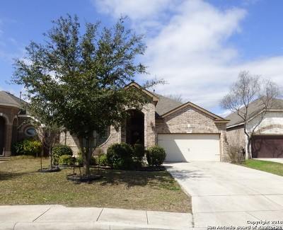 San Antonio Single Family Home Back on Market: 7727 Culebra Valley